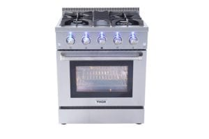Thor Kitchen 30″ Freestanding Professional Gas Range