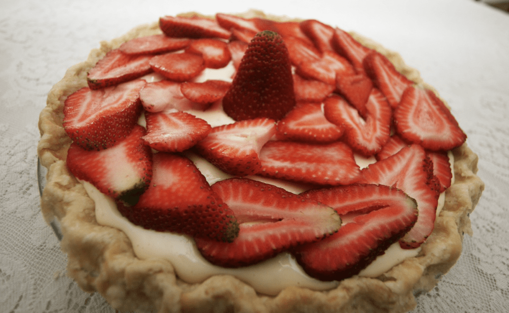 Strawberry Pizza Dessert Recipe