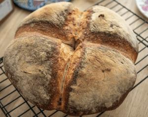 Baking Sourdough Bread Inside An Ooni Pizza Oven