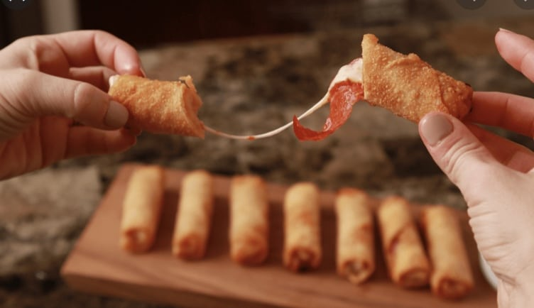 How To Cook Frozen Pizza Logs In Air Fryer